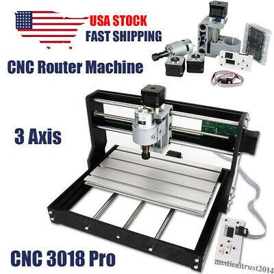 Cnc 3018 Pro Grbl Diy Mini Cnc Router Machine 3 Axis Milling Machine Wood Pcb