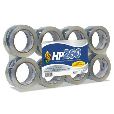 Duck 00-07424 Hp260 1.88 In X 60 Yds Packaging Tape Clear 8pack New