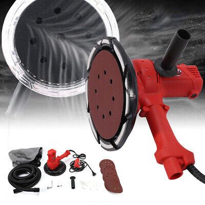 Electric Hand Held Drywall Sander 1280w Variable Speed W Vacuum Dust Bag Disc