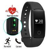 Waterproof Smart Watch Heart Rate Monitor Pedometer Fitness Wristband Bracelet