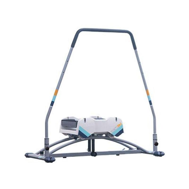 Aeroski 2.0 Ski Fitness Workout Machine with Recoil Spring Resistance, Gray