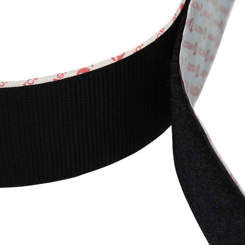 Repositionable molding strips and velcro