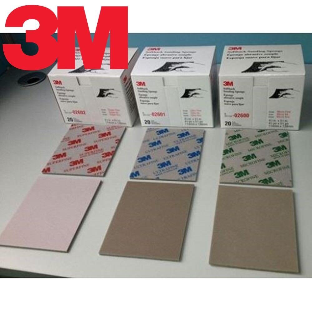 3M Softback Sanding Sponge fine 20pc tool Sandpaper hobby ta