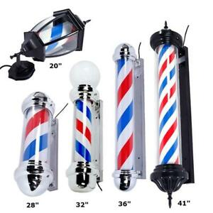 Barber pole - sign - 5 models to choose from  -Brand new - FREE SHIPPING