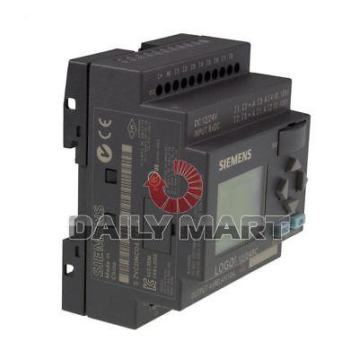 New Siemens Logo 1224rc 6ed1052-1md00-0ba6 Plc Logic Module 81p 40p 24v