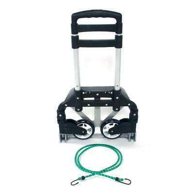 Portable 170 Lbs Folding Collapsible Aluminum Cart Dolly Push Truck Trolley New