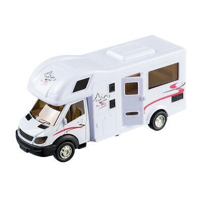 Wohnmobil Spielzeug aus Metall 17cm Wohnwagen Camping Auto Modell Happy People