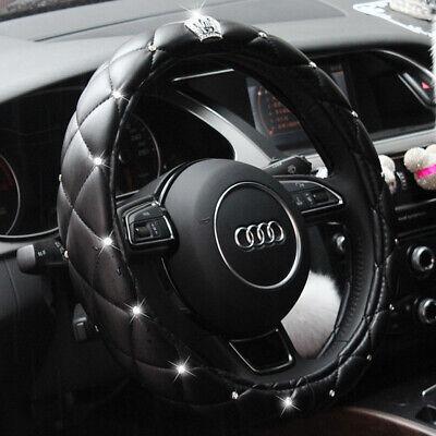 Black Car steering Wheel Cover 15