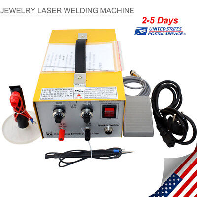 Jewelry Welding Machine Electric Pulse Sparkle Spot Welder Jewelry Toolfrom Us