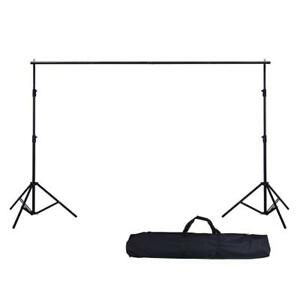 High Quality 8.5 x 10ft Backdrop Stand with Telescopic Crossbar - Brand New ON SALE!