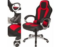 RayGar Sports Gaming Racing Chair Swivel Reclining Computer Desk Office Chair