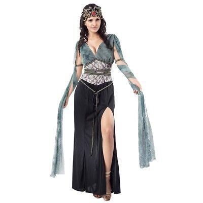 Uk 10-14 Ladies Medusa Costume - Dress Fancy Greek Goddess Outfit Fancy - Medusa Costume Uk