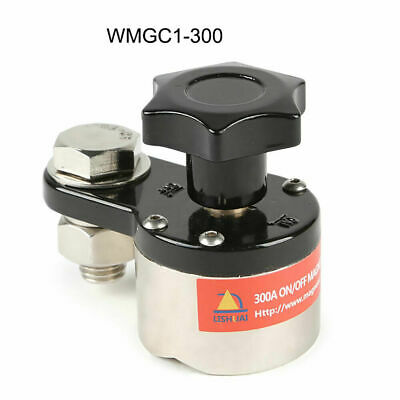 Magnet Welding Ground Clamp Holder Magnetic Welder Connector Earth Switch 300a