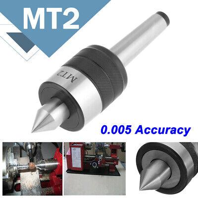 Mt2 Precision Live Center Morse Taper Bearing Lathe Turning Long Nose Us