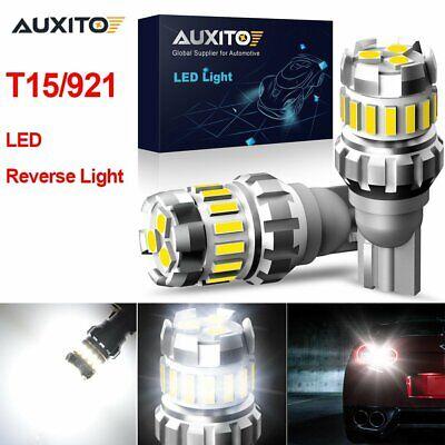 4X Super White LED Bulbs Car Backup Reverse Light 912 921 T15 W16W Canbus Lamp