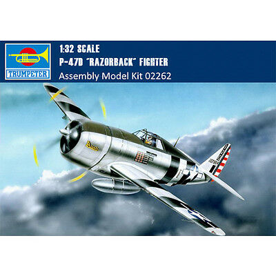 (Trumpeter 02262 1/32 P-47D Thunderbolt Razorback Fighter Assembly Model Kits)