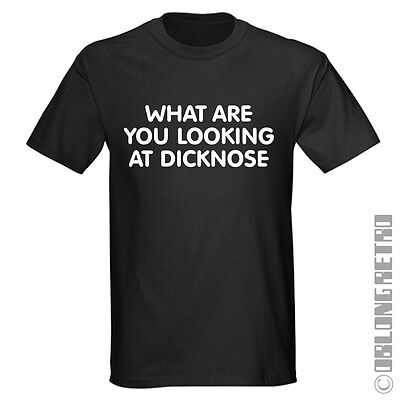 Teen Wolf T SHIRT '' What are you looking at DICKNOSE  '' based on the dvd film