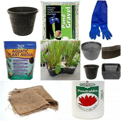 Ultimate Water Garden Pond Plant Kit Medium Ponds, Includes Aquatic Plant Items
