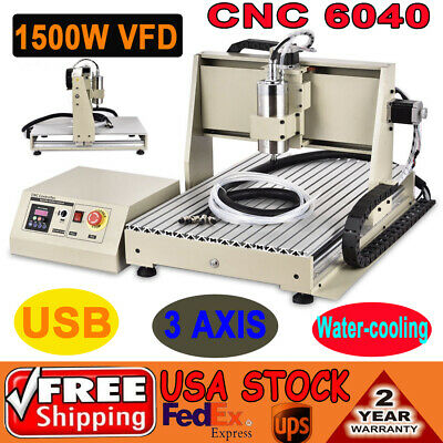 Usb 6040 1.5kw 3axis Cnc Router Cnc Engraver Milling Spindle Engraving Machine