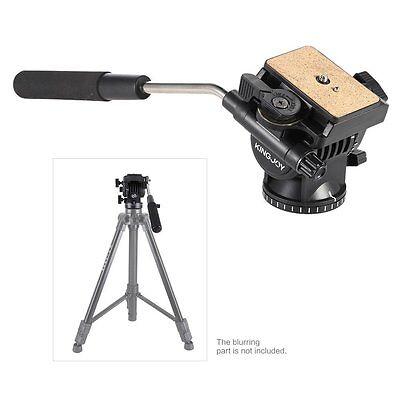 Professional Heavy Duty Fluid Head Pan Head For DV Video Camera DSLR Tripod