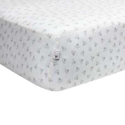 Burt's Bees Baby - Fitted Crib Sheet, Girls & Unisex 100% Organic Cotton...  - Organic Cotton Crib Sheet