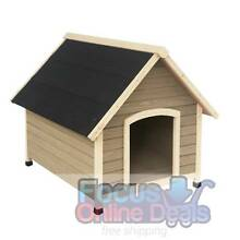 Timber Dog Kennel  -Free Delivery North Melbourne Melbourne City Preview