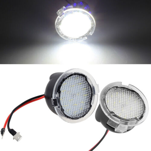 Details about 2x Side Mirror Puddle Lamp LED Error Free Light for Toyota  Sequoia Tundra Stock