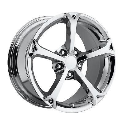 Corvette Grand Sports chrome Reproduction Wheels 17/18 For C5 for sale  Delray Beach