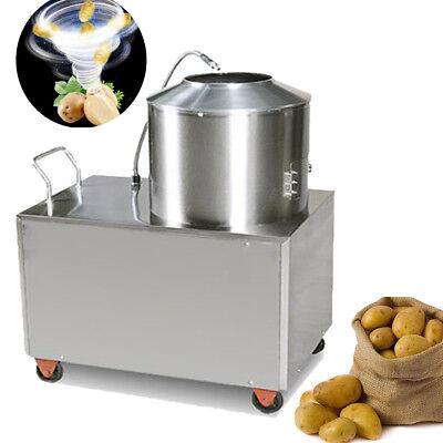 Electric Commercial Potato Peeler Fast Sweet Potato Peeling&Clean&Wash Machine