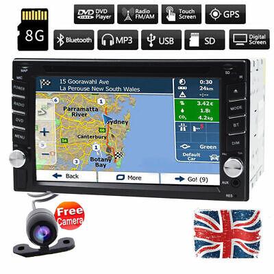 Car DVD Player Stereo Auto Radio GPS Sat Nav 6.2