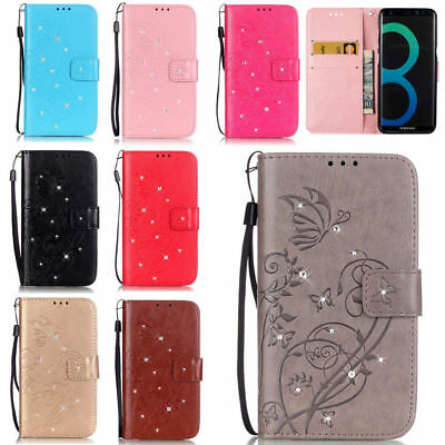 For Samsung Galaxy S9/S8 Plus/J7 S3 Pattern Leather Wallet Phone Case Flip Cover - Samsung S3 Case