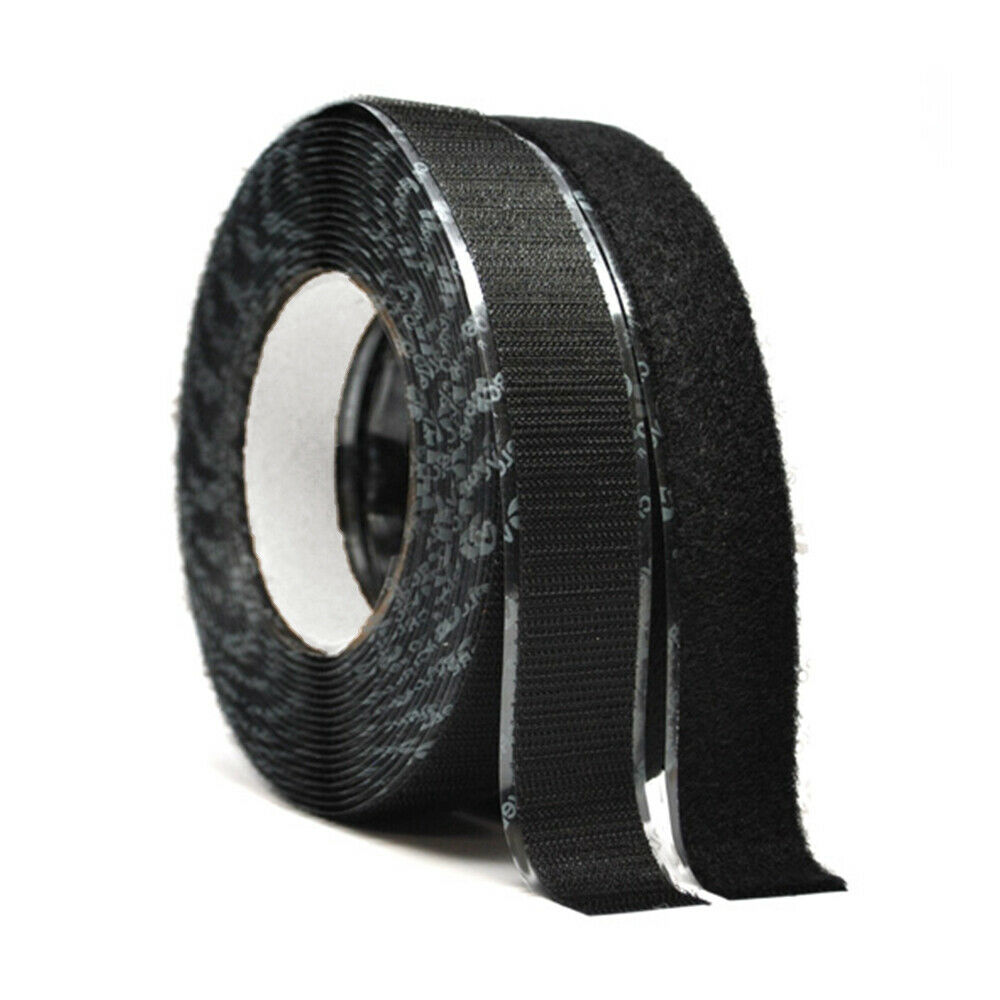 "2"" Wide VELCRO® Brand High Tack Self Adhesive Black Tape St"
