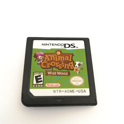 Animal Crossing Wild World Game Card For Nintendo 3DS NDSI NDSL NDS Cartridge comprar usado  Enviando para Brazil