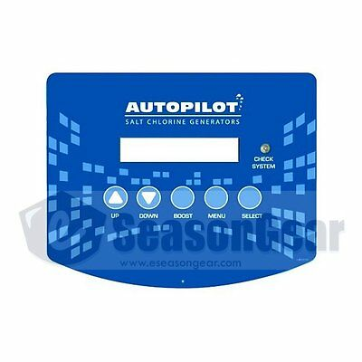 AutoPilot LBP0109 Label - for Pool Pilot NANO Power Supply Display Front Cover