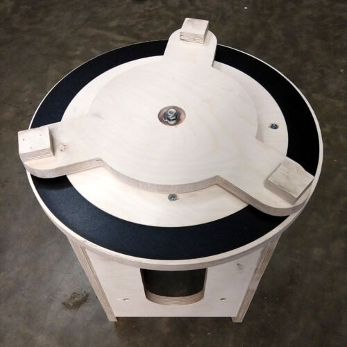Dobsonian Telescope Azimuth Laminate Rings And Rounds.