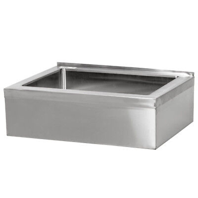Regency 20 X 16 X 12 Stainless Steel Floor Mop Bucket 25 Sink Commercial