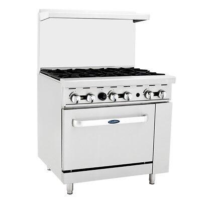 Atosa Ato-6b Cookrite 36 6 Burner Gas Range W Oven