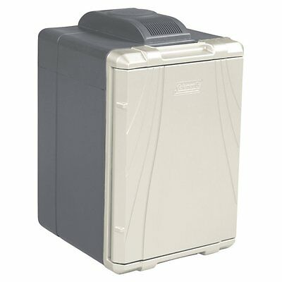 Coleman 40 Quart PowerChill Thermoelectric Cooler with Vehicle Outlet, Gray