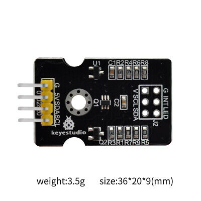 Keyestudio Tcs34725 Rgb Light Color Sensor Recognition Module For Arduino Uno