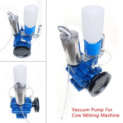Updated Portable Vacuum Pump W Belt Pulley For Cow Milking Machine 250lmin Usa