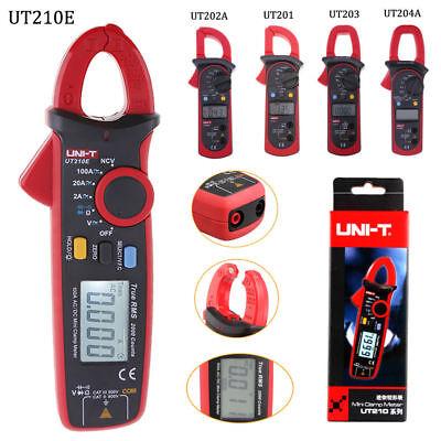 Uni-t Ut210e Handheld Lcd Digital Clamp Meter Auto Capacitance Auto Range Ncv