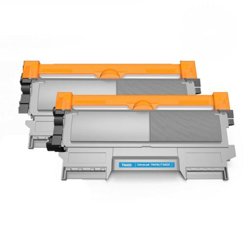 2pk For Brother TN450 Toner Cartridge High Yield MFC-7860DW