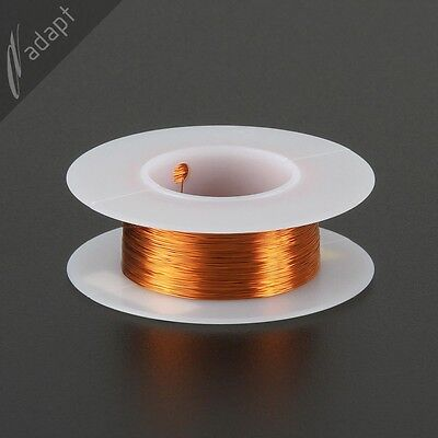 32 AWG Gauge Magnet Wire Natural 306' 200C Enameled Copper Coil Winding