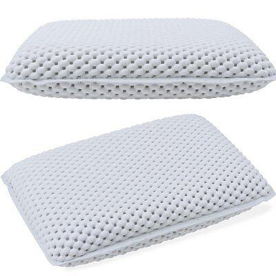 Non-Slip Bath Pillow White Luxury Relax Spongy Cushion Spa Head Rest Bathroom
