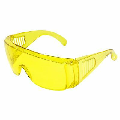 Birdz Visitor Safety Glasses Fit Over Rx Yellow Frame And Lens