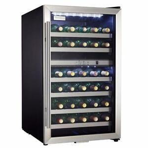 Refroidisseur à vin 38 bouteilles à 2 zones Danby ( DWC114BLSDD )