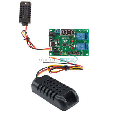 Am2301 Digital Led Display Temperature Humidity Controller Board Sensor