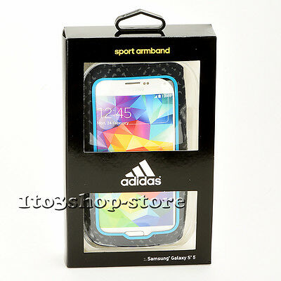 Griffin Adidas Active Sport Armband w/Key Slot for Samsung Galaxy S7 S6 S5 Black