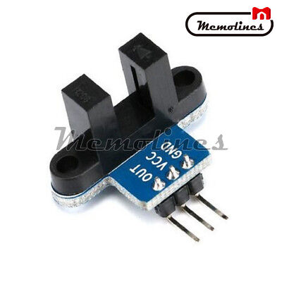 - IR Infrared Slotted Optical Speed Measuring Sensor  Optocoupler Detection Module