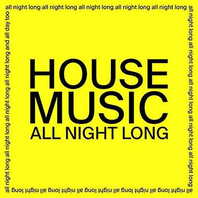 "Jarv Is - House Music All Night Long 12"" Vinyl Single New 2020"